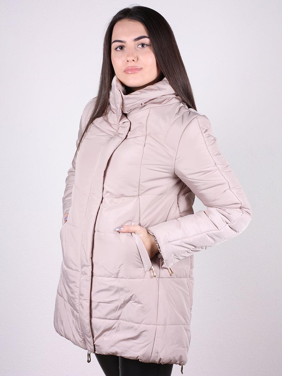 Куртка бежевая | 4922389 | фото 5