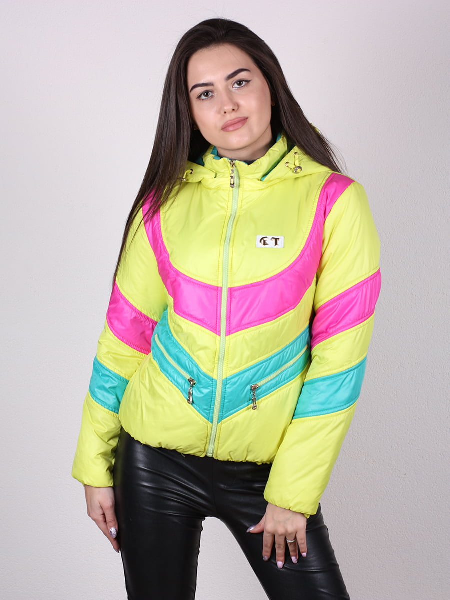Куртка разноцветная   4922449   фото 4