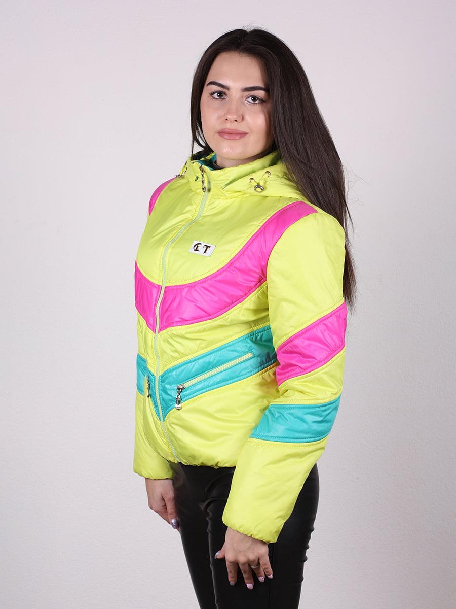 Куртка разноцветная   4922449   фото 5