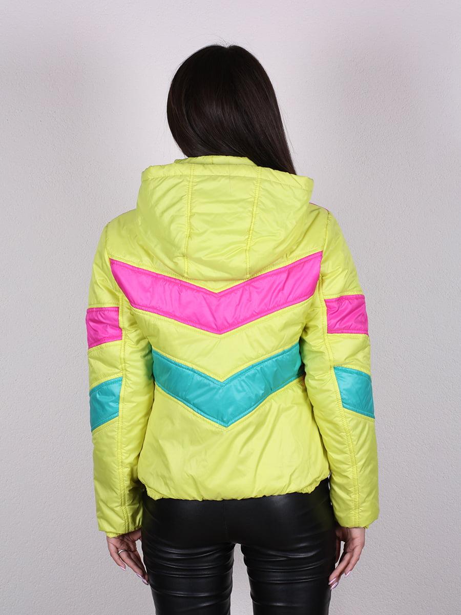 Куртка разноцветная   4922449   фото 6