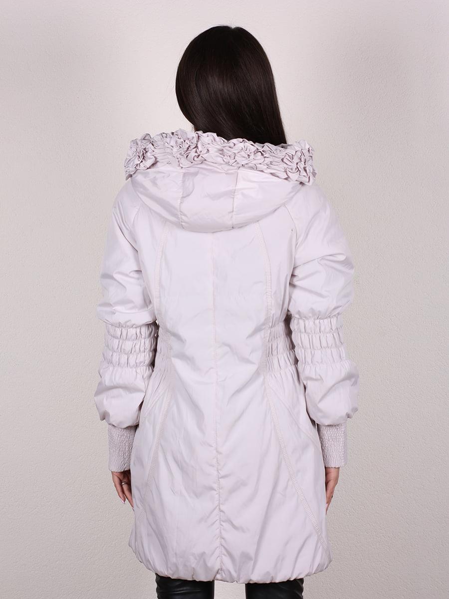 Пальто бежево-серого цвета | 4922457 | фото 6