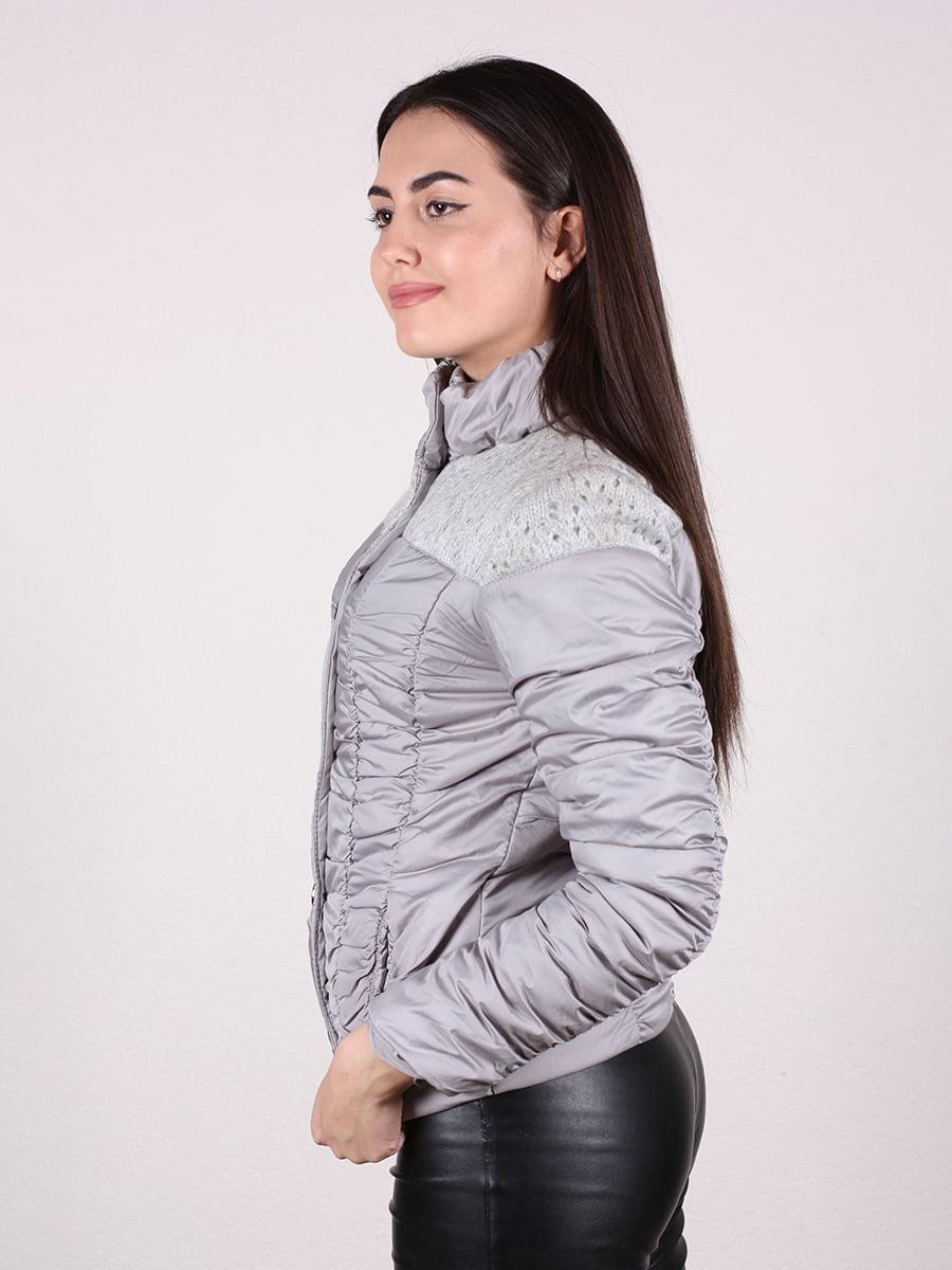 Куртка светло-серая | 4922472 | фото 5