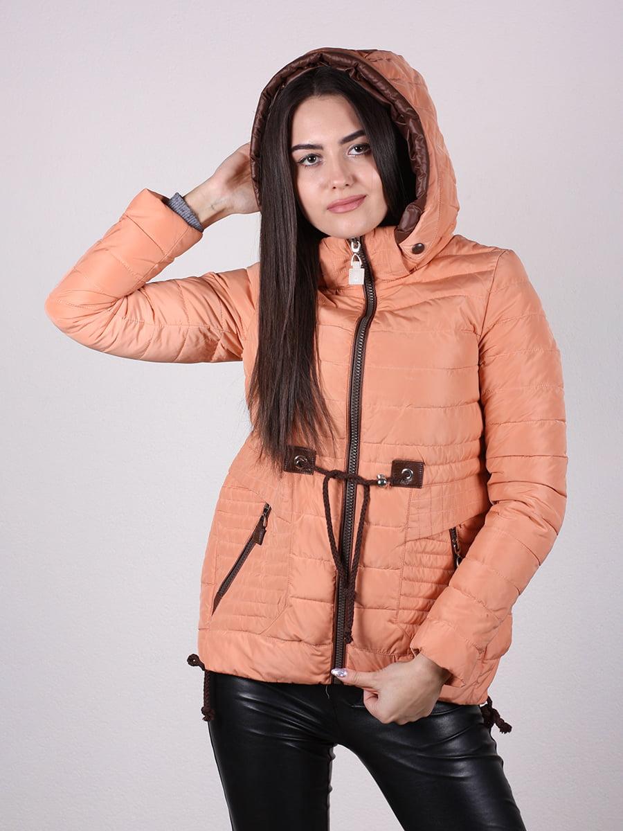 Куртка терракотового цвета | 4922473 | фото 6