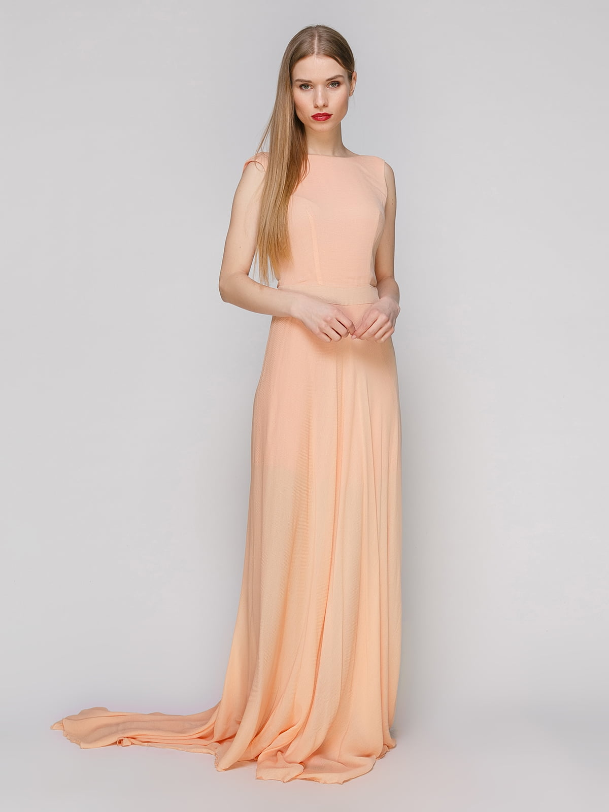 Платье оранжевое | 4911124