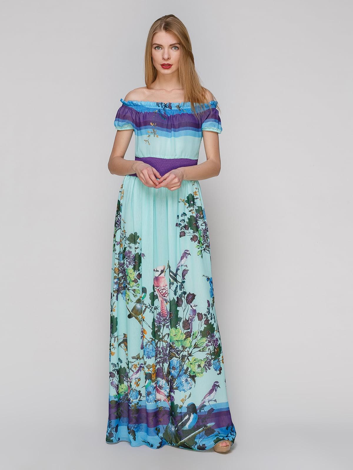 Сукня в квітковий принт | 4911262