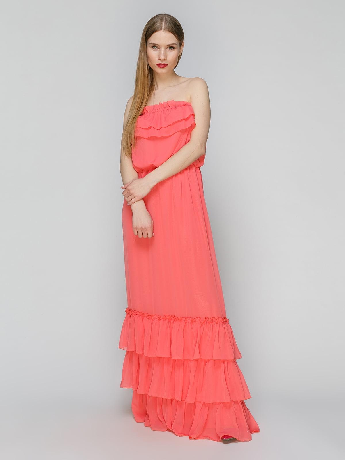 Сукня коралова | 4910697