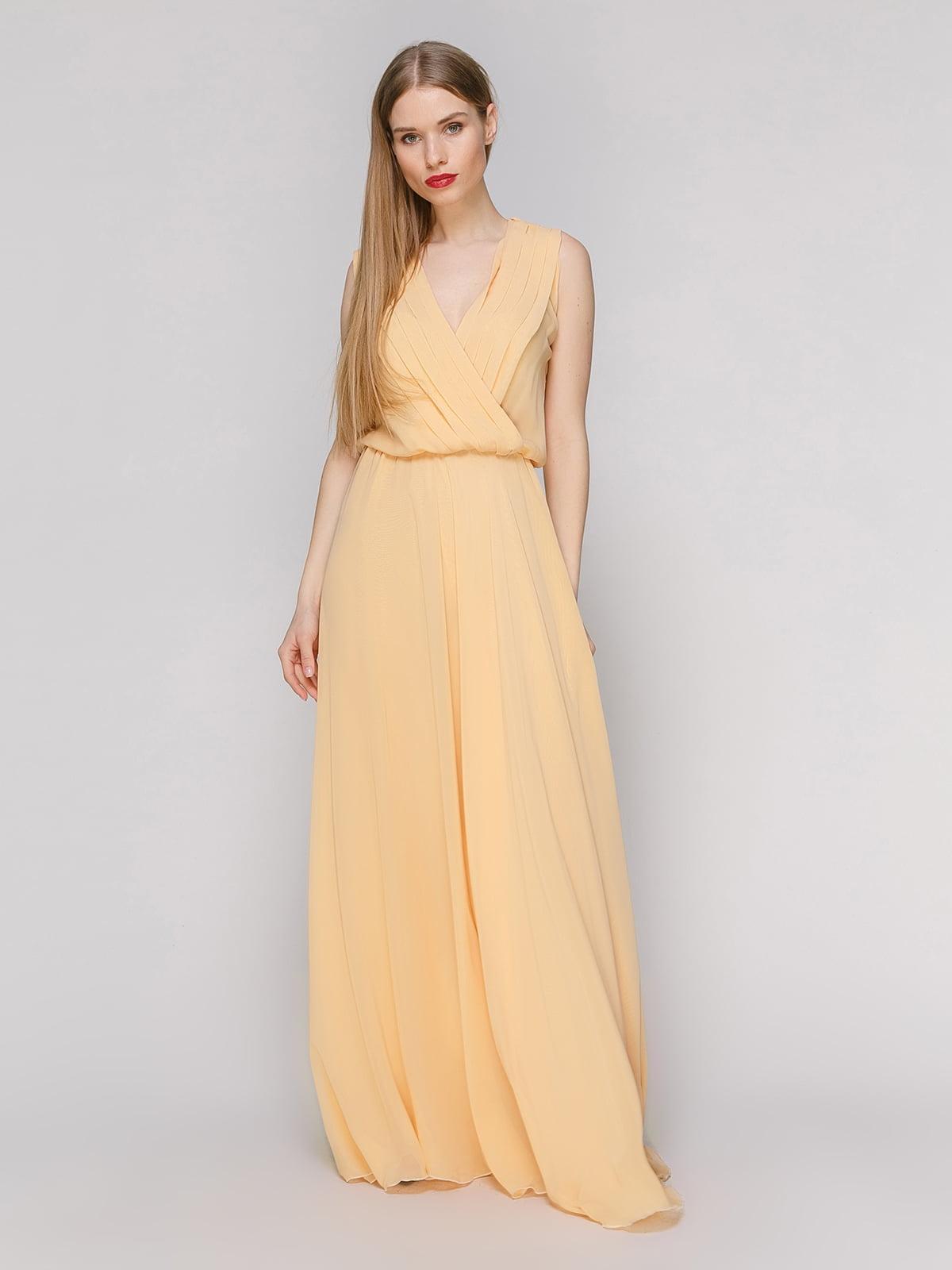 Платье бежевое | 4911060