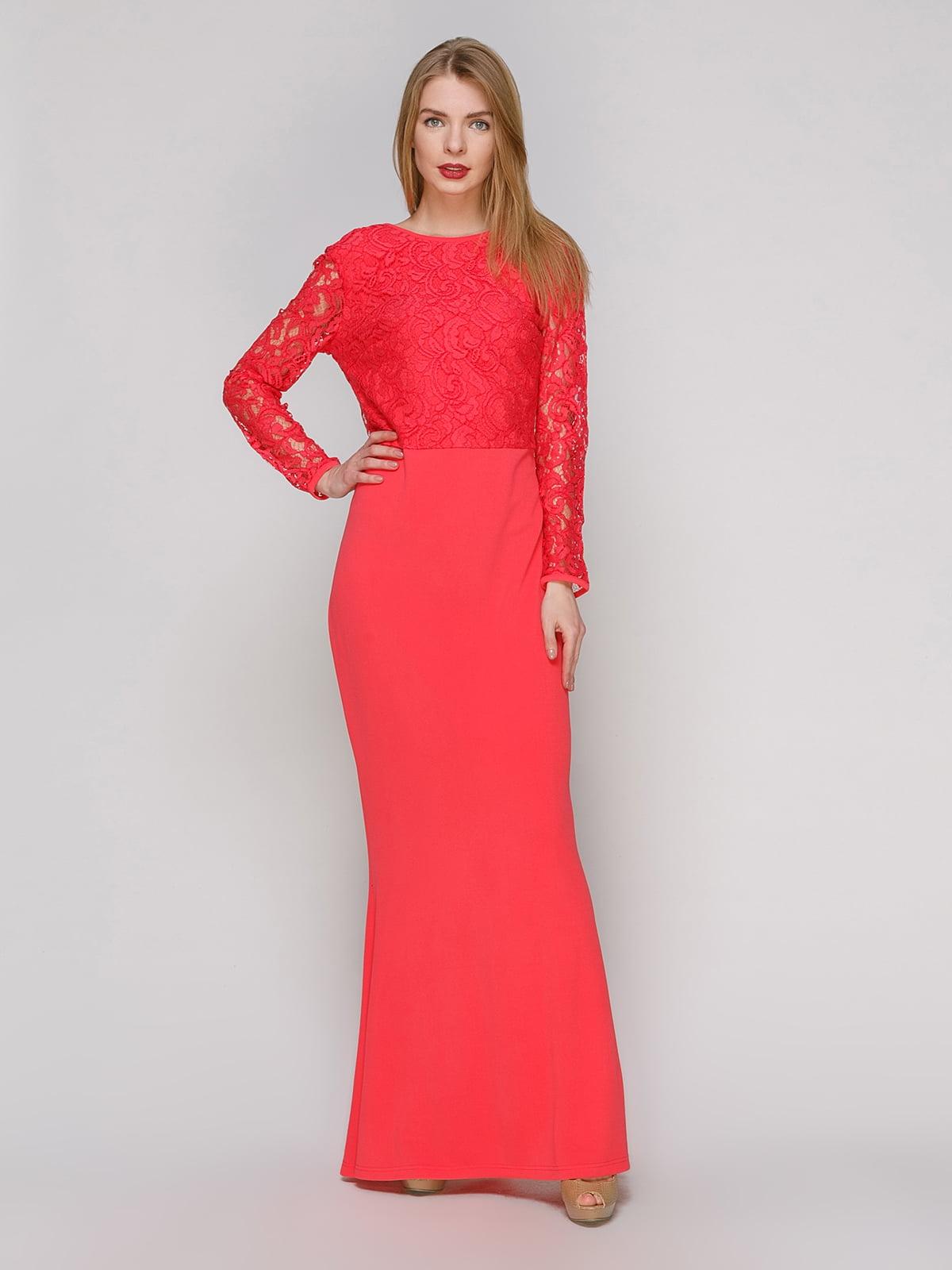 Сукня коралова | 4911081
