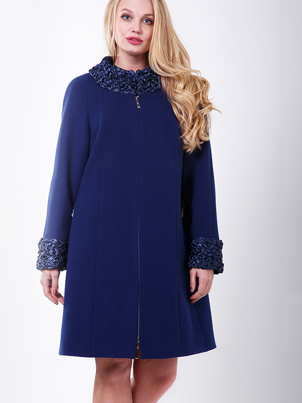 Пальто синє | 4977492