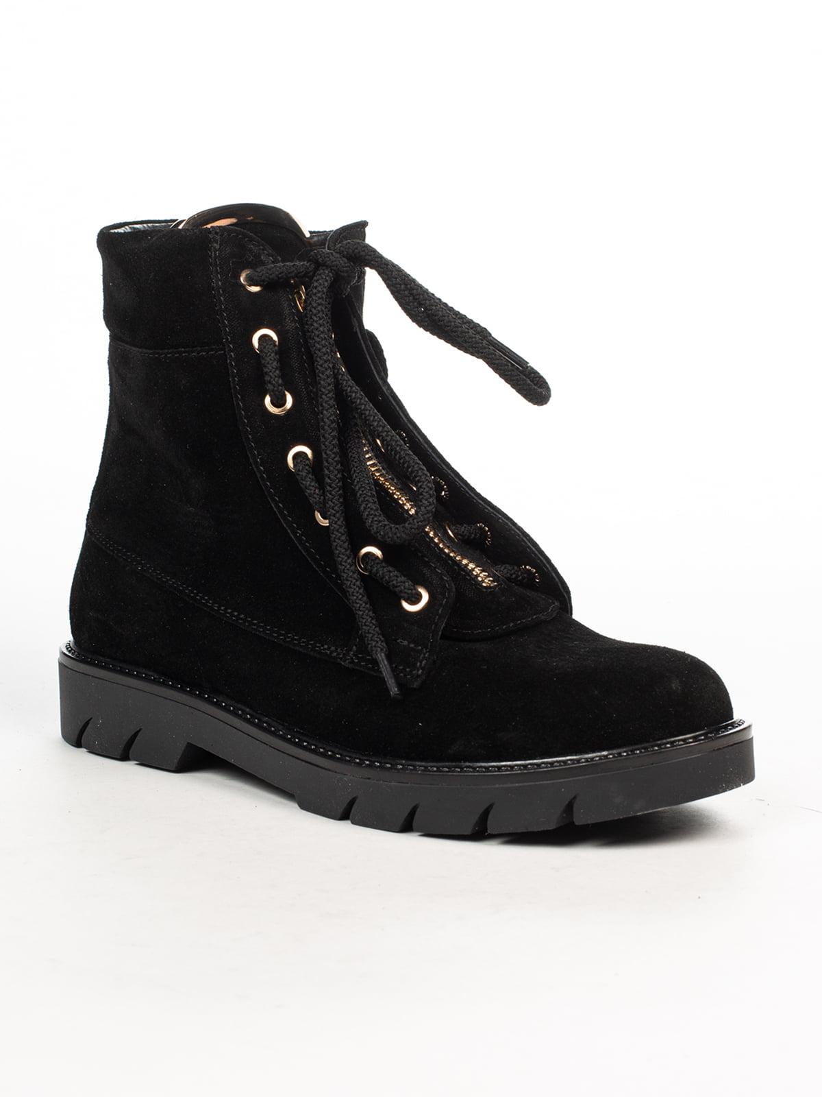 Ботинки черные   4948466