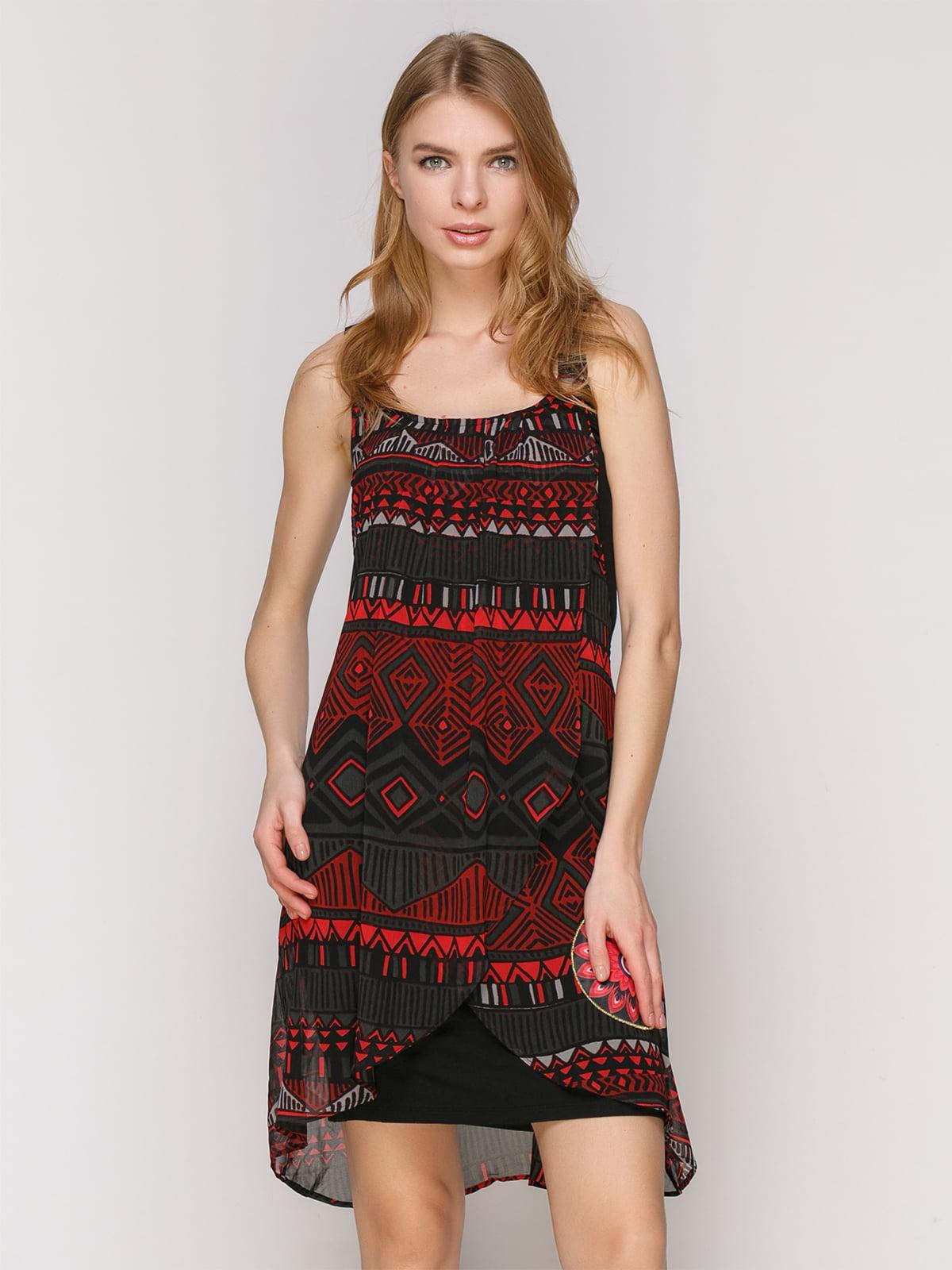Платье в принт | 4965722