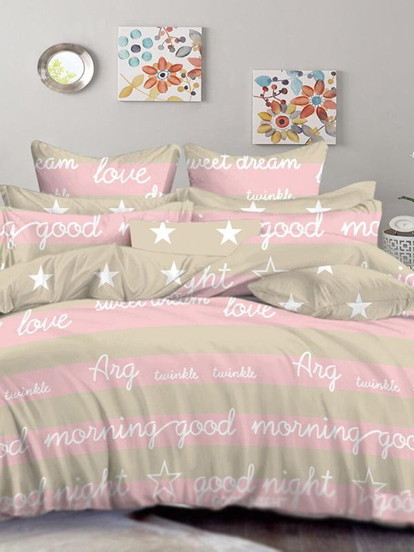 Комплект постельного белья двуспальный | 4971546