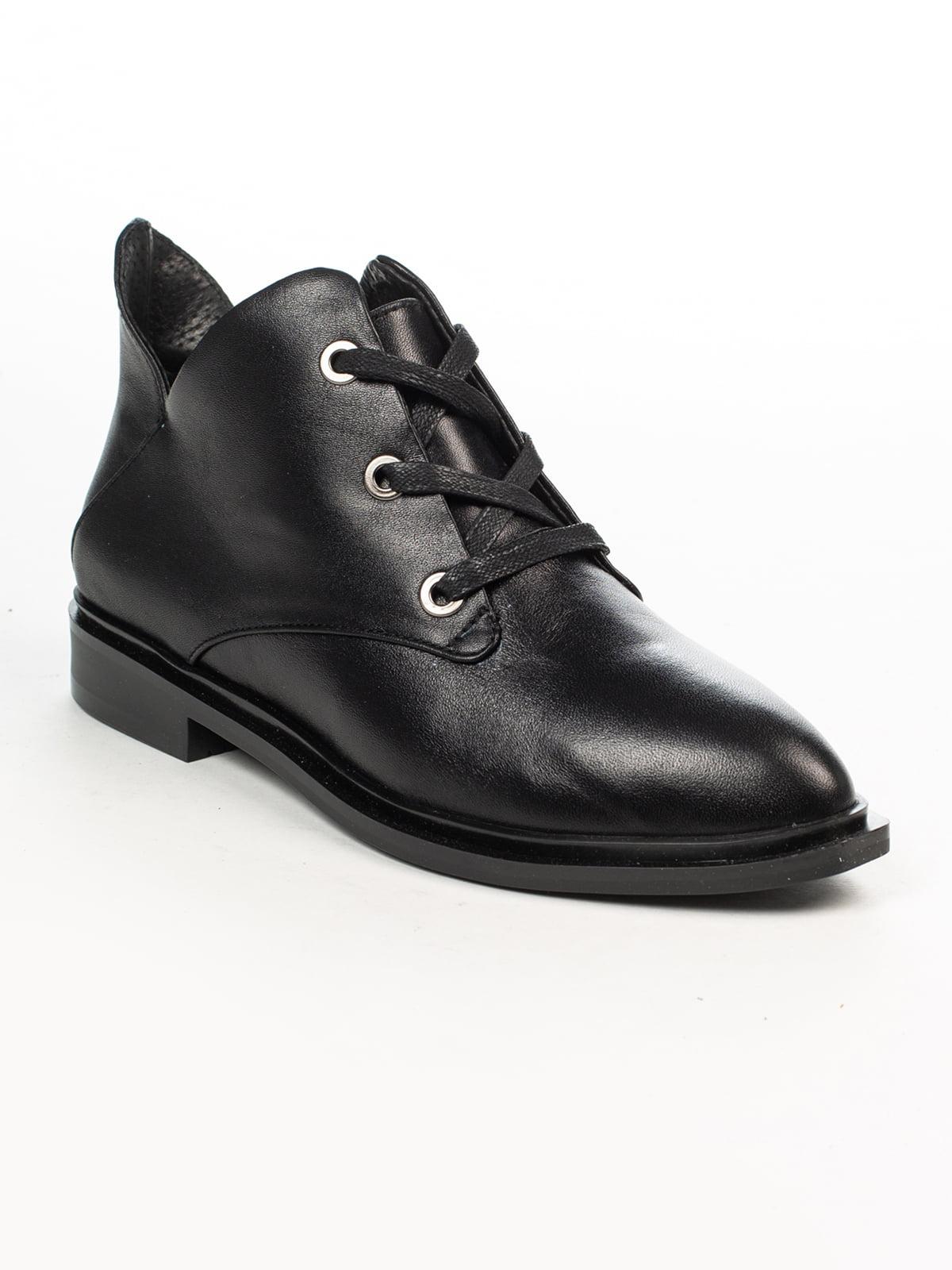 Ботинки черные   4948482