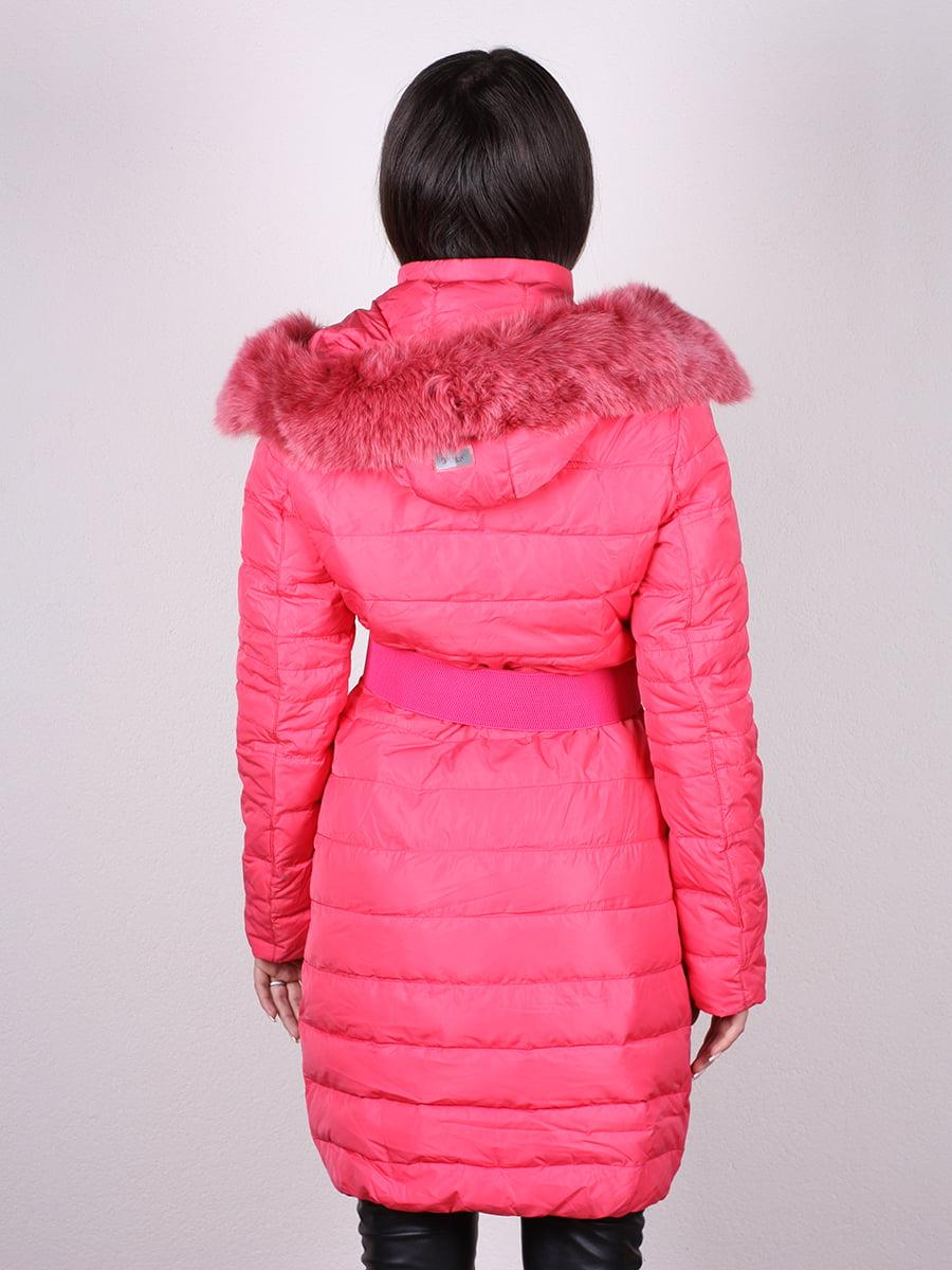 Пальто коралловое | 4959807 | фото 4
