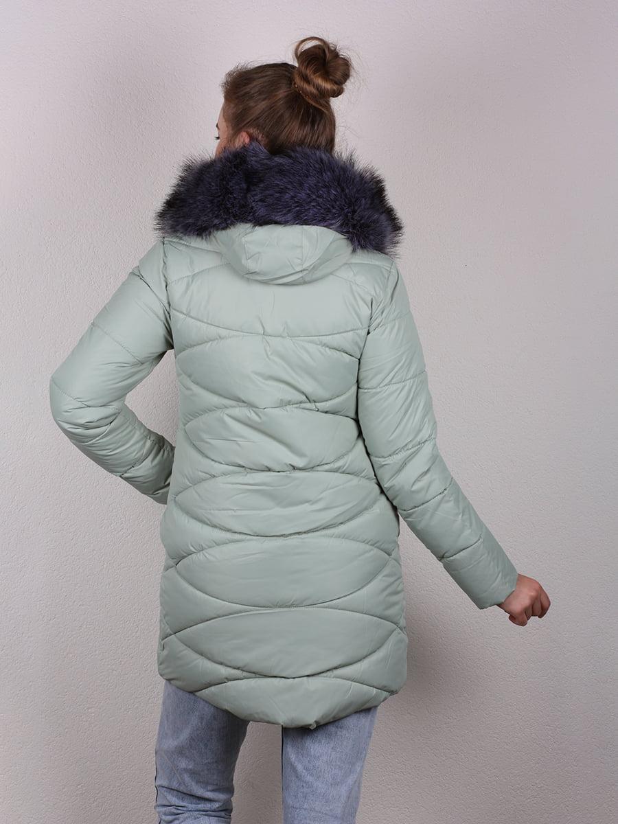 Пальто мятного цвета   4959810   фото 2