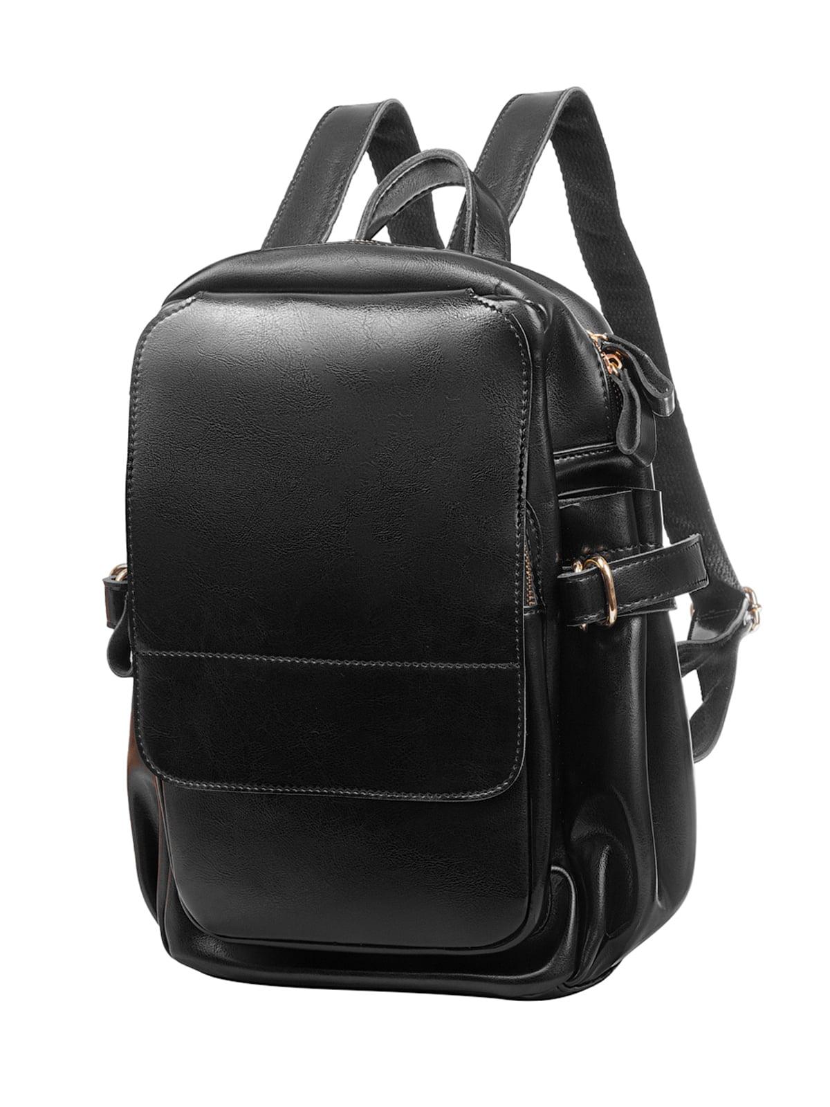 Рюкзак чорний | 4950528