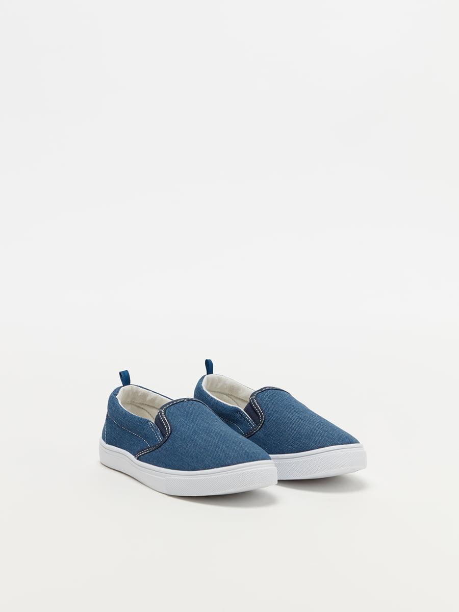 Слипоны синие   4970622