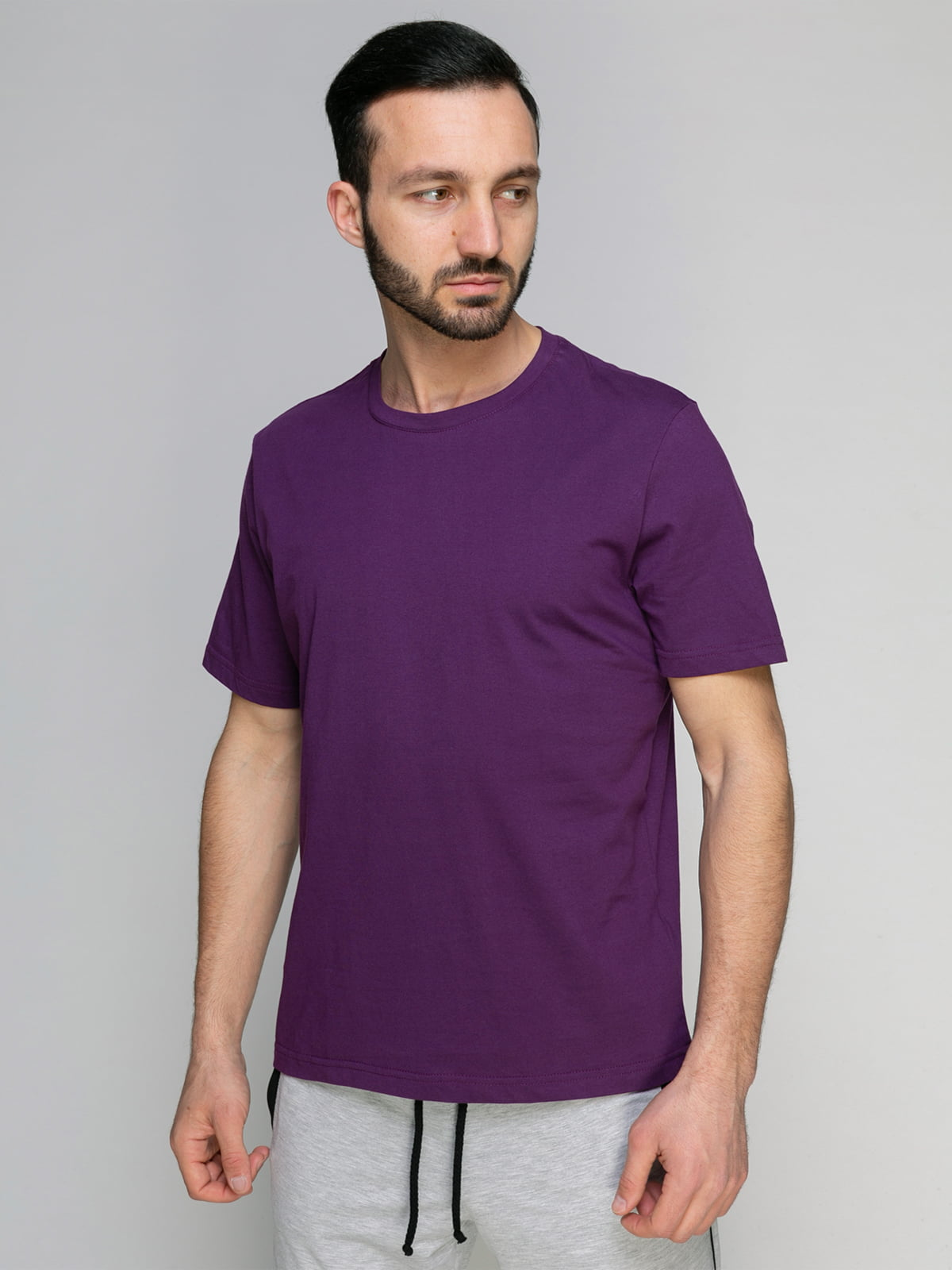 Футболка фіолетова | 4959307