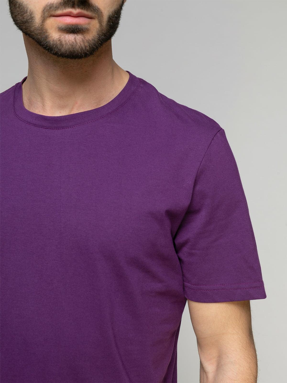 Футболка фіолетова | 4959307 | фото 3