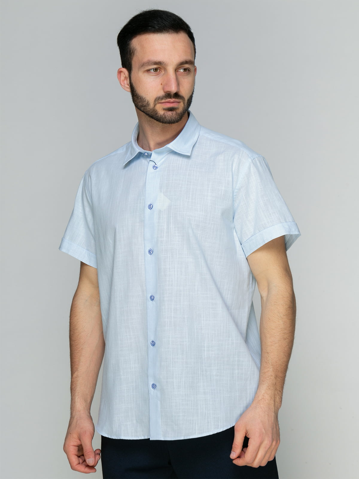 Рубашка голубая   4959209