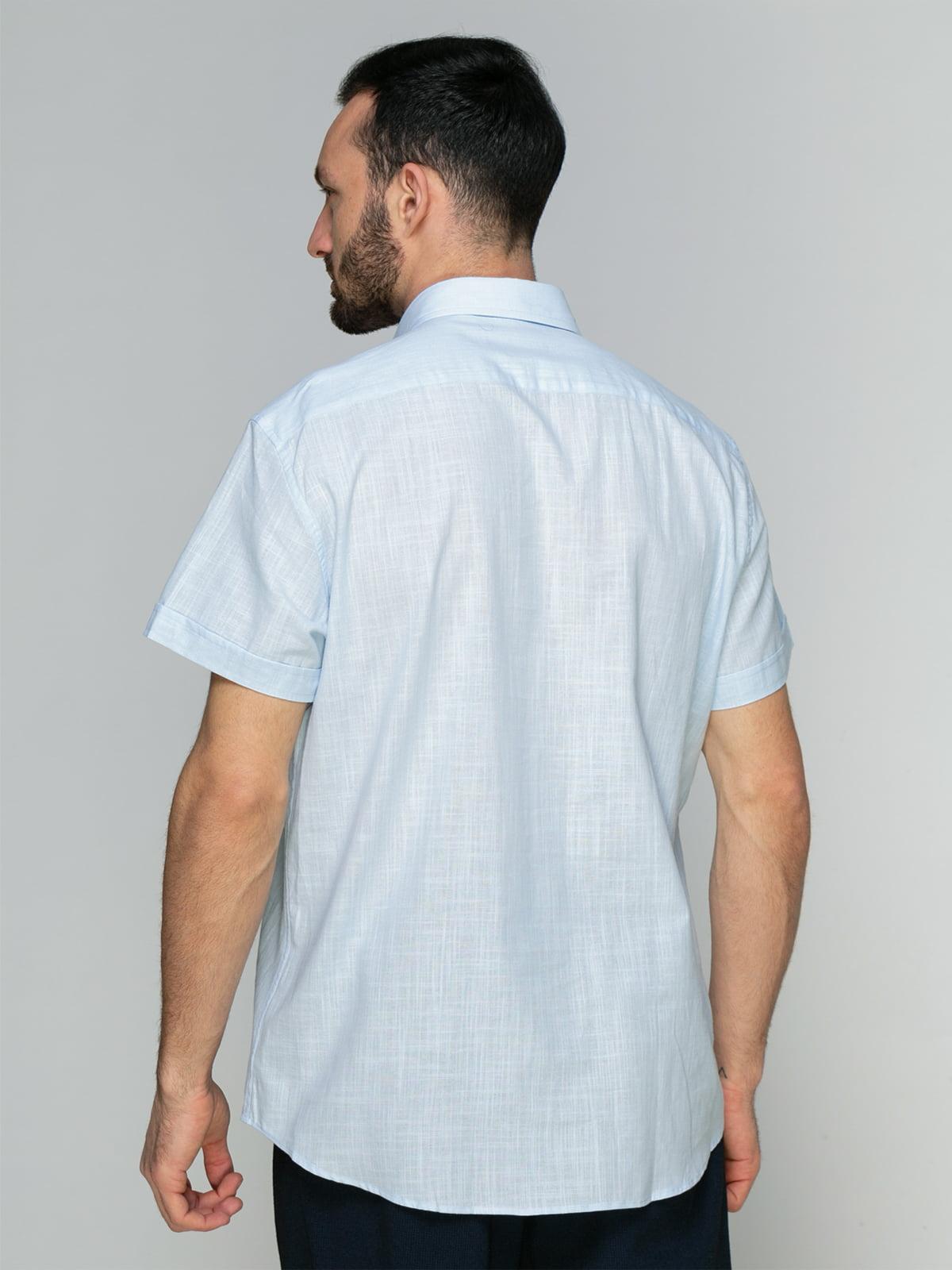 Рубашка голубая   4959209   фото 2