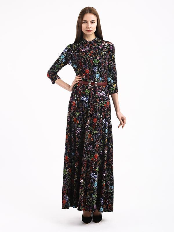 Сукня в квітковий принт | 4866744