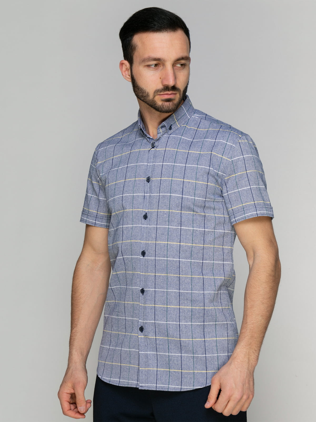 Рубашка клетчатая | 4959211