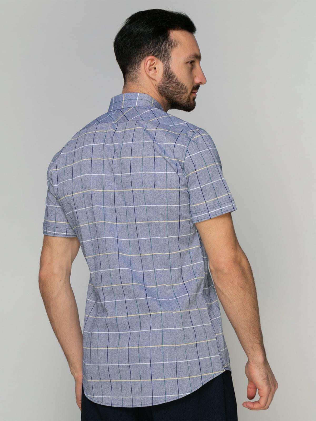 Рубашка клетчатая | 4959211 | фото 2