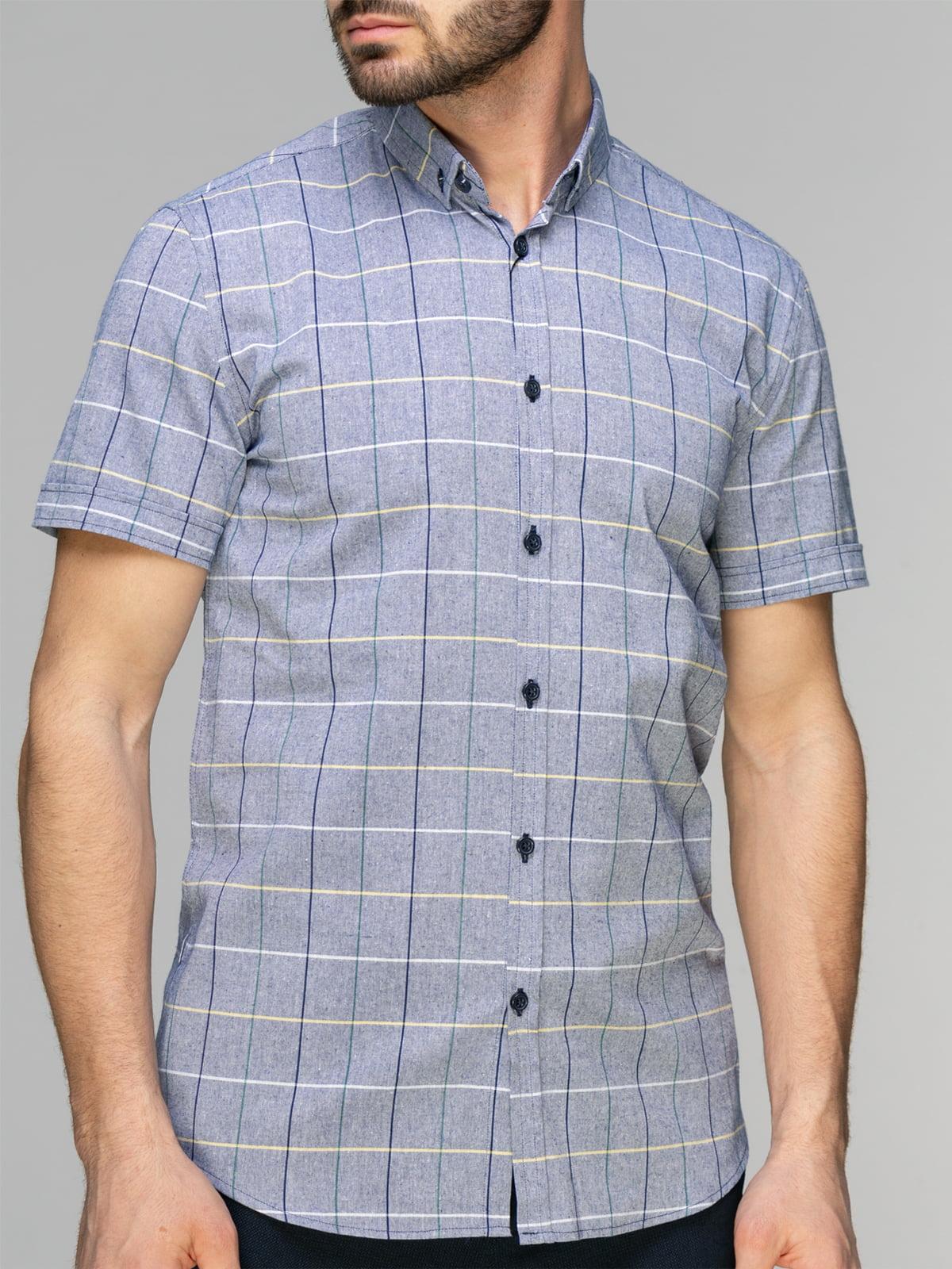 Рубашка клетчатая | 4959211 | фото 3