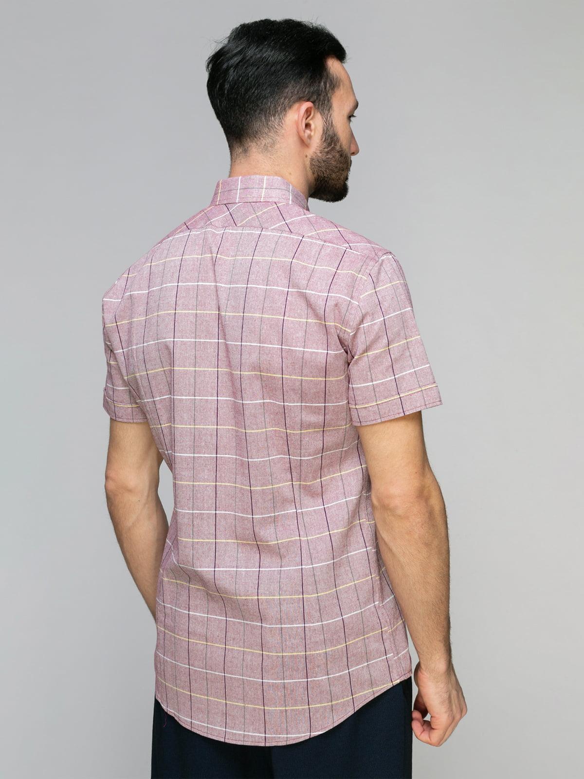 Рубашка клетчатая   4959238   фото 2