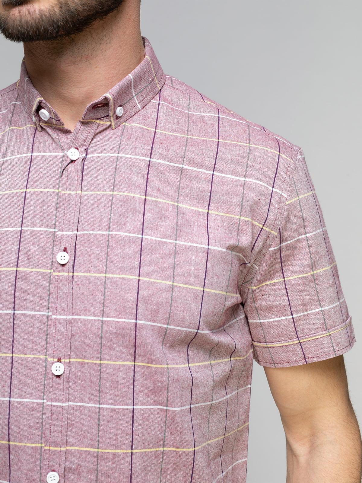 Рубашка клетчатая   4959238   фото 3