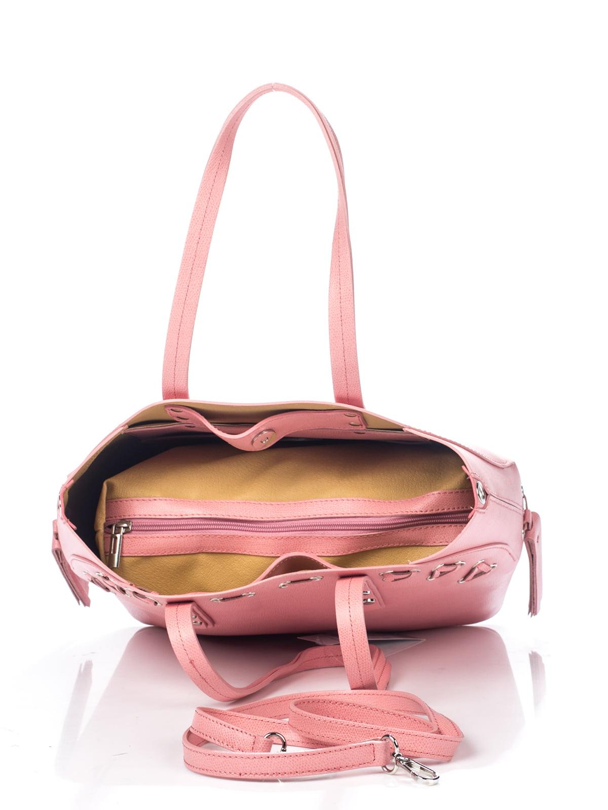 Сумка рожева | 4757002 | фото 4