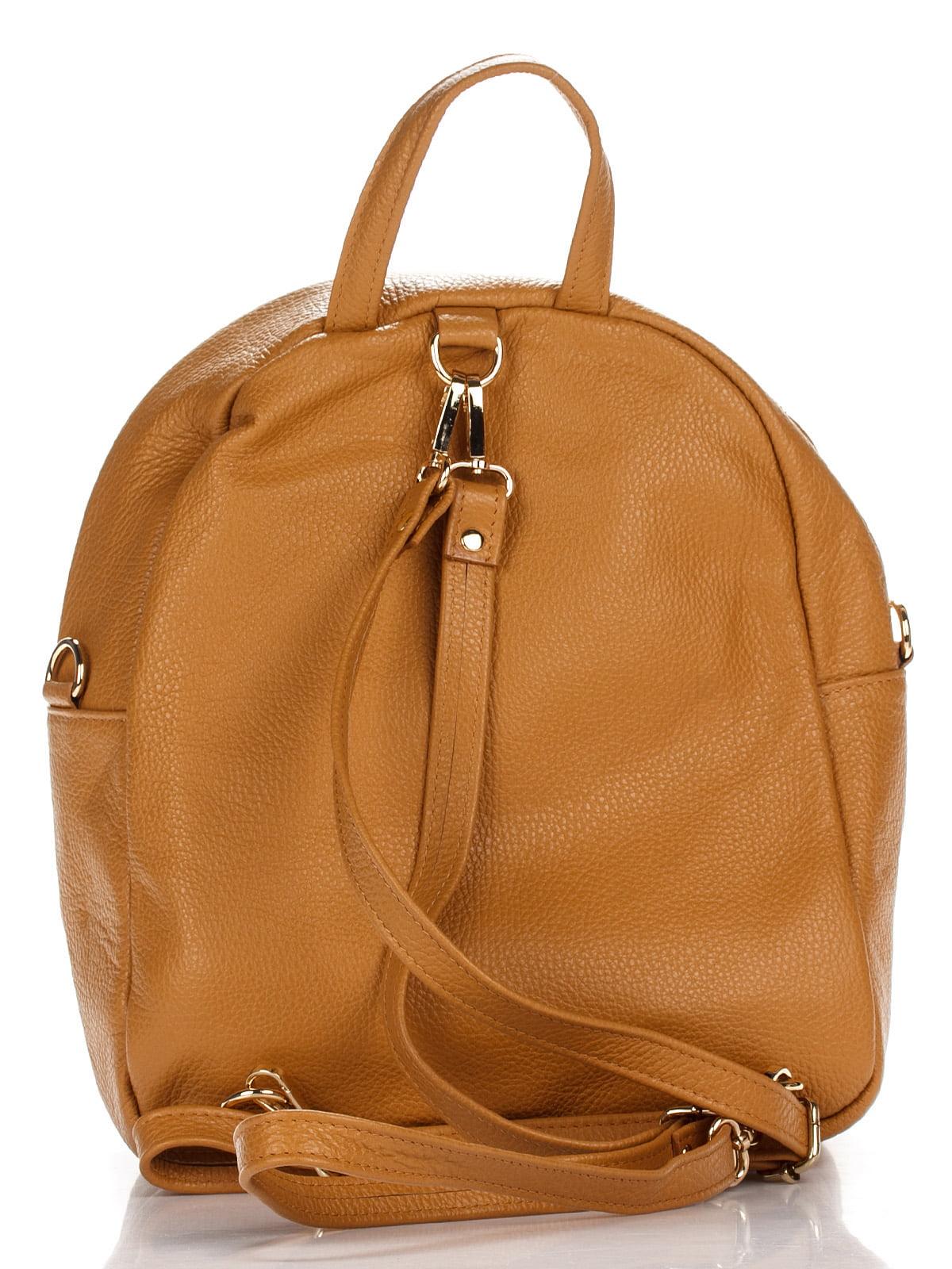 Рюкзак коньячного кольору   4757096   фото 2