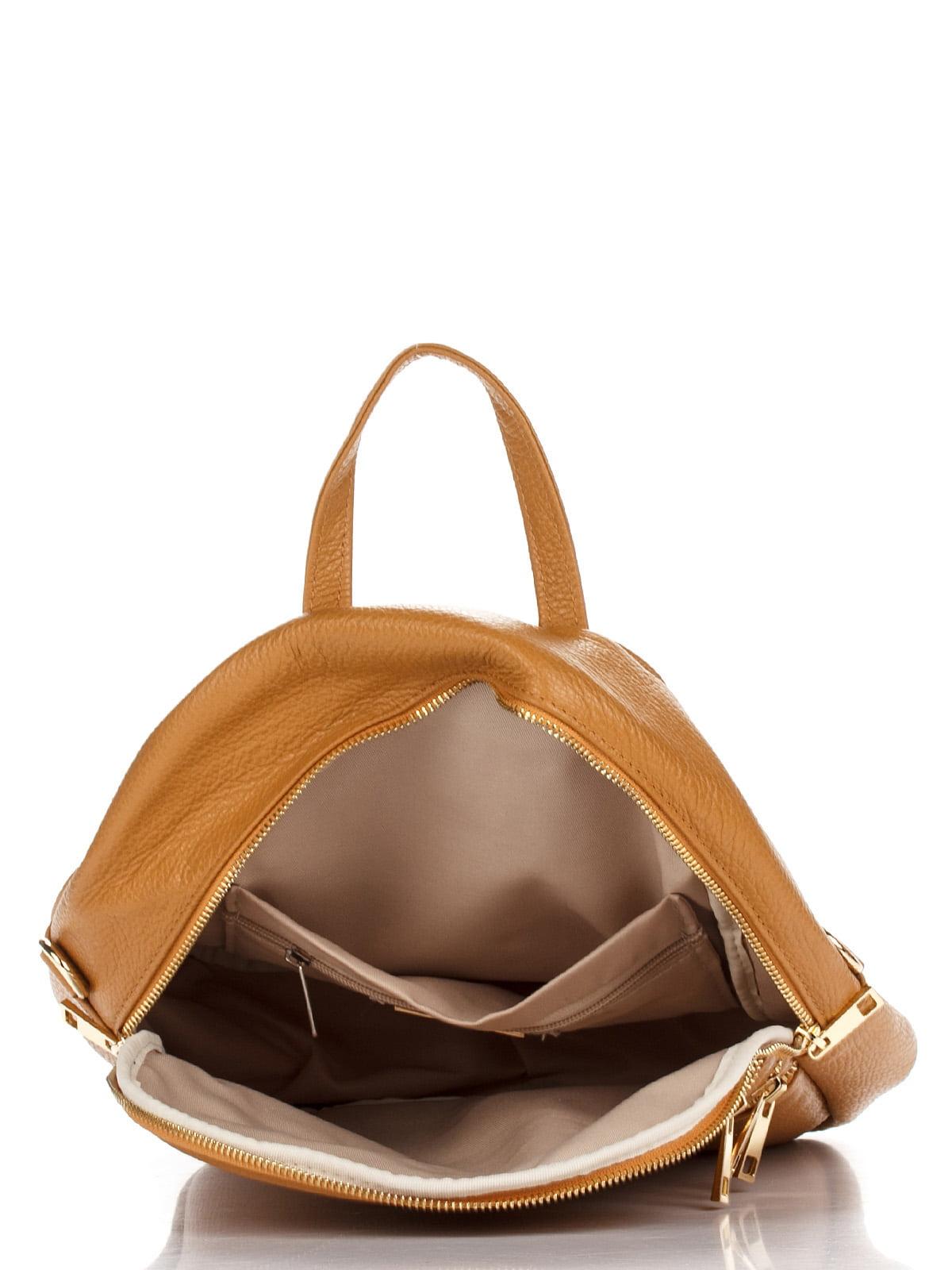 Рюкзак коньячного кольору   4757096   фото 4