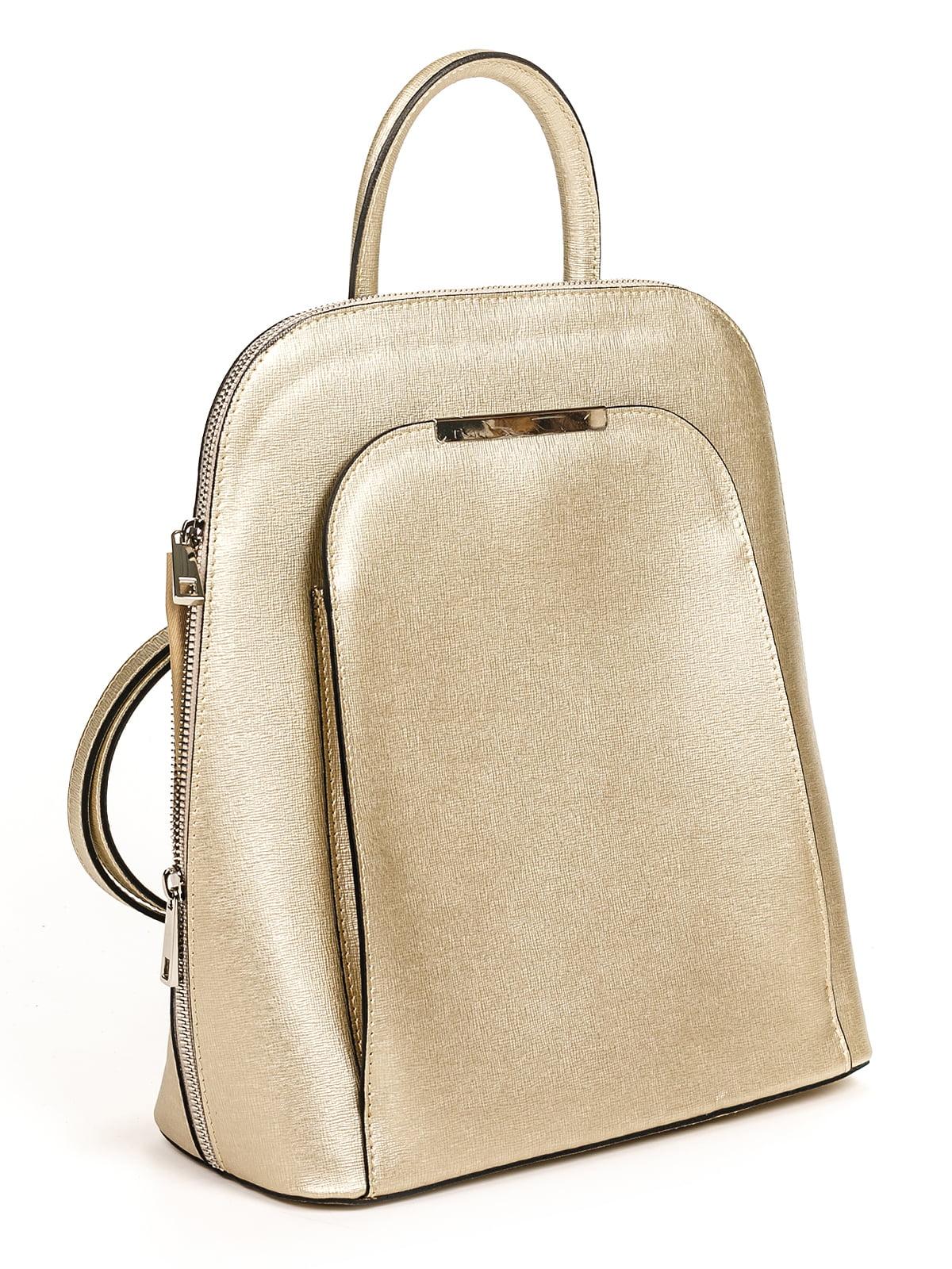 Рюкзак золотистий | 4979583 | фото 2