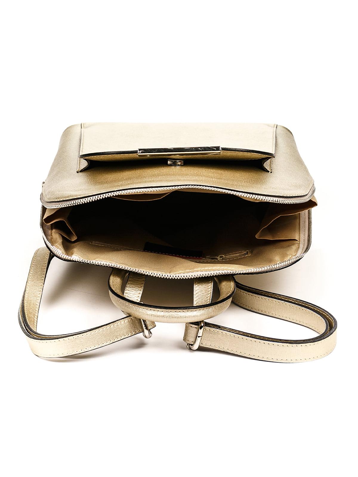 Рюкзак золотистий | 4979583 | фото 4