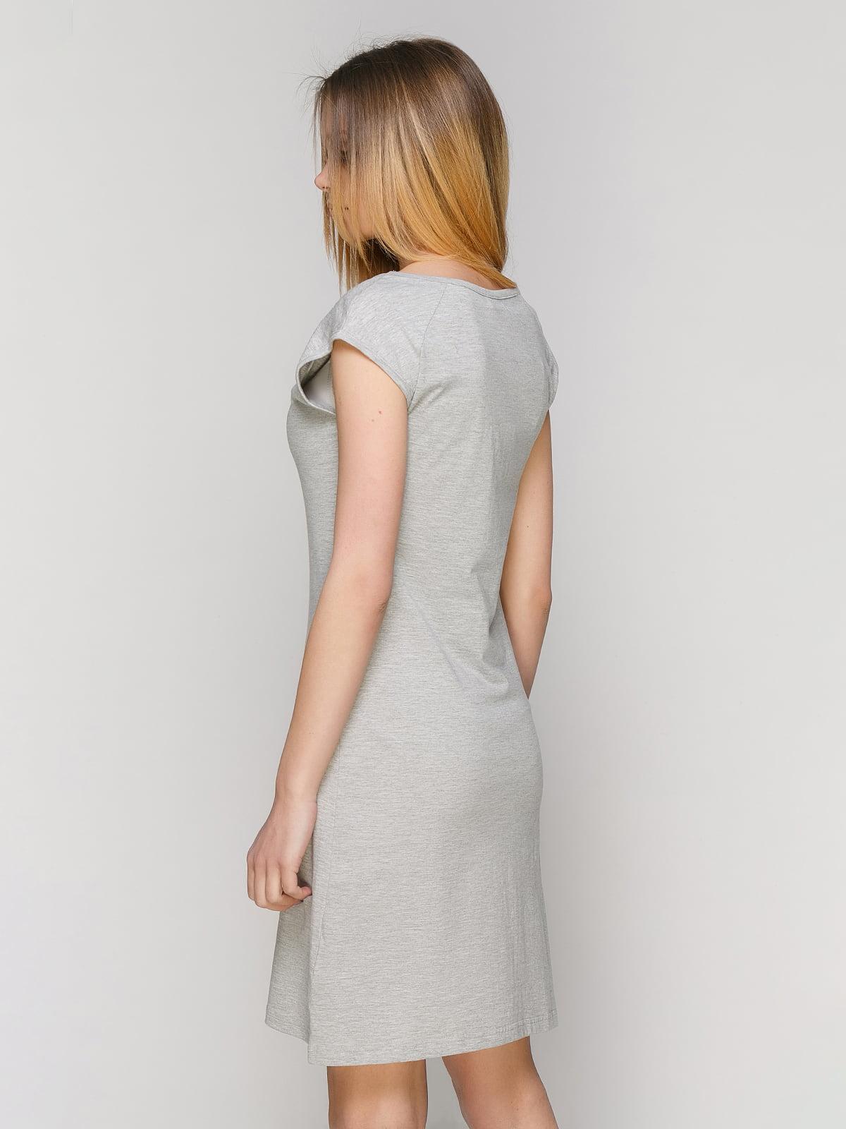 Сукня сіра | 4974526 | фото 2