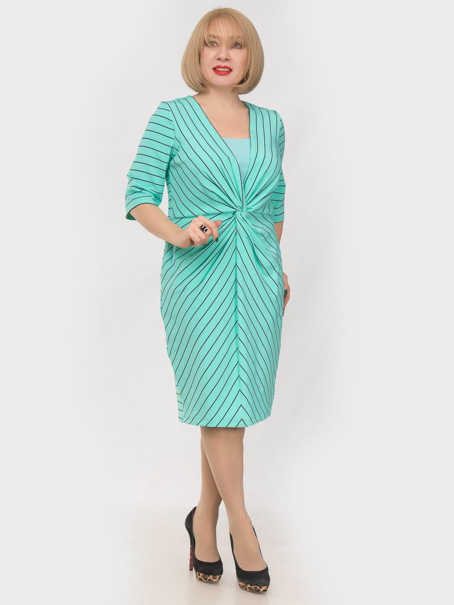 Платье мятного цвета | 4962499