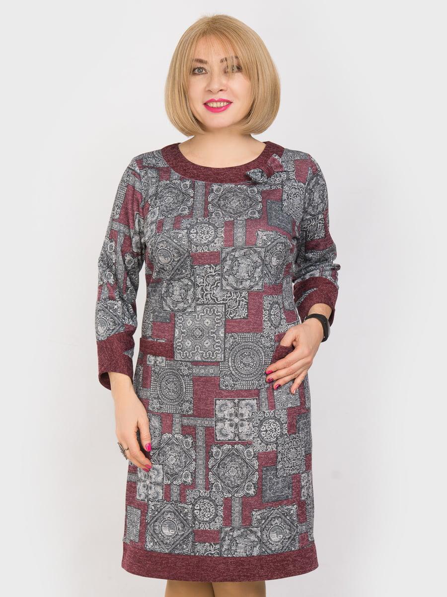Платье в принт | 4975321