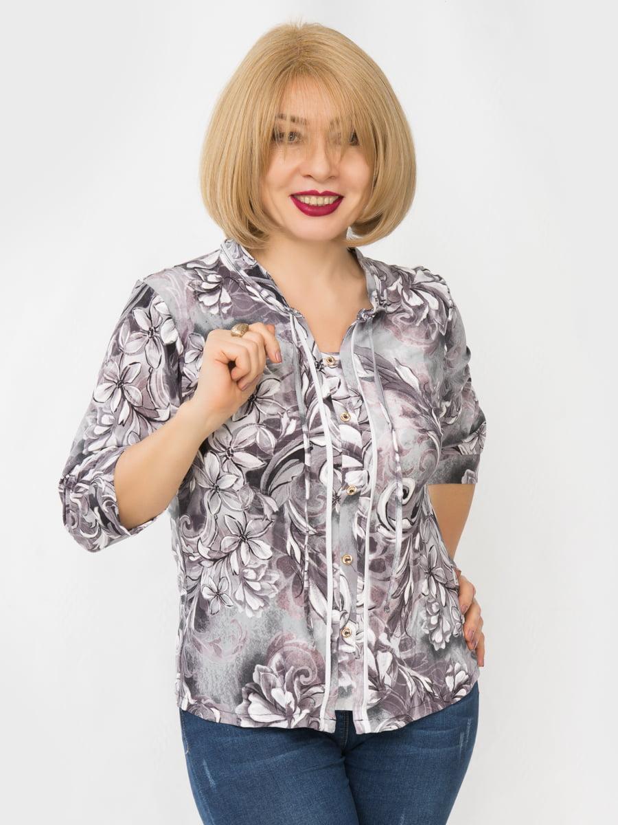 Блуза в принт | 4982876