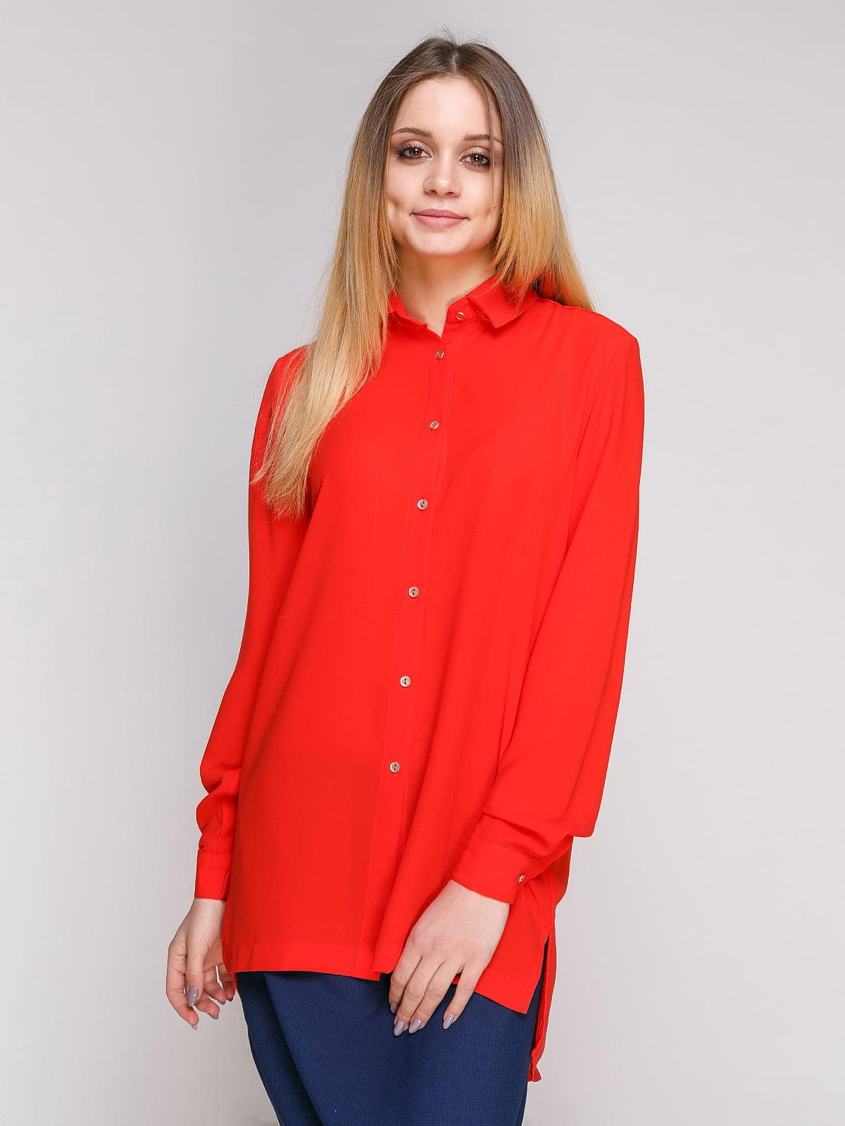 Рубашка красная | 4695391