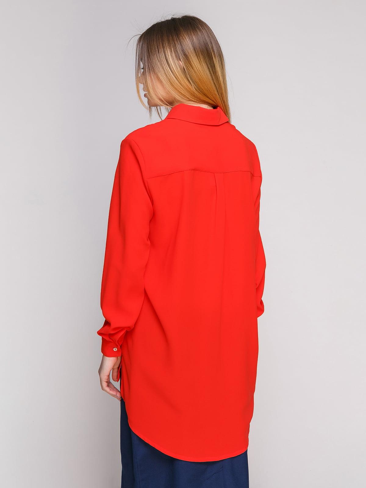 Рубашка красная | 4695391 | фото 2