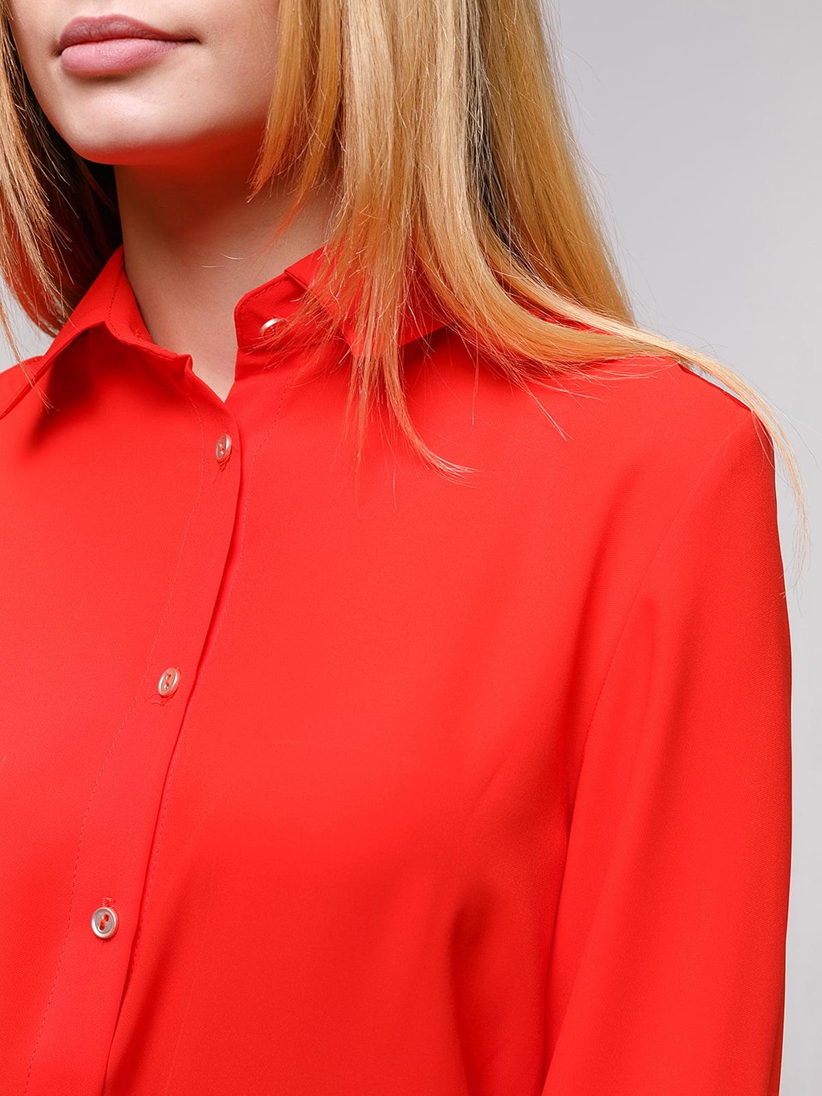 Рубашка красная | 4695391 | фото 3