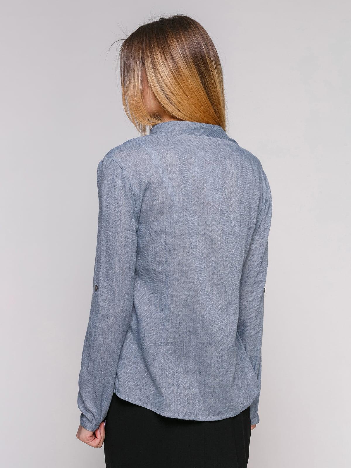 Блуза сіра | 4959200 | фото 2