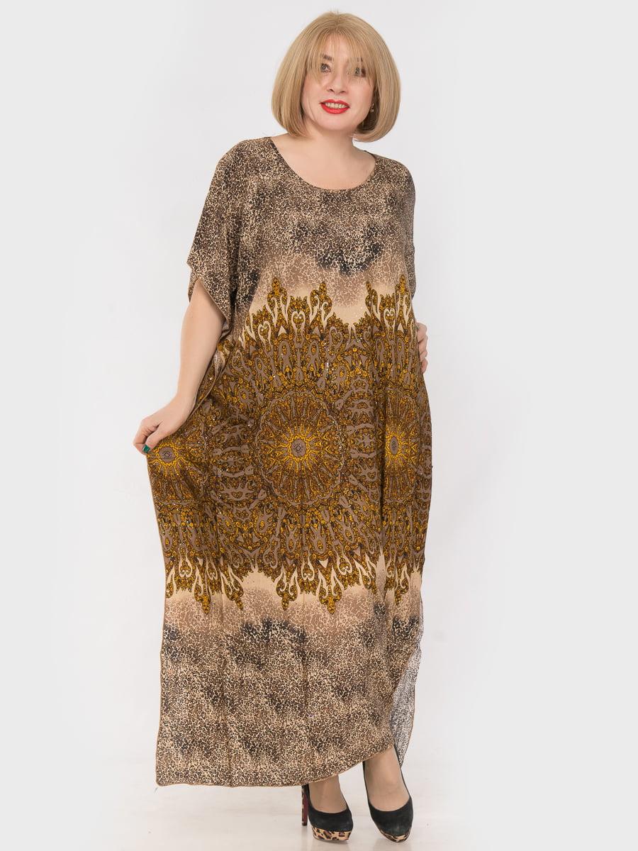 Платье в принт | 4982874