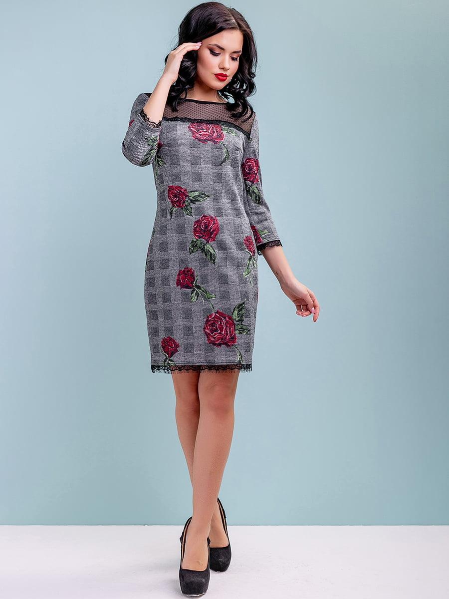 Сукня в квітковий принт | 4983731 | фото 2