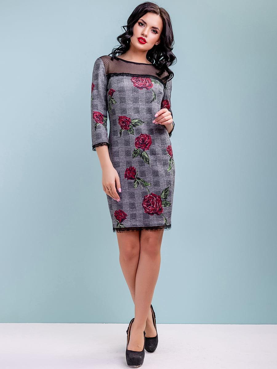 Сукня в квітковий принт | 4983731 | фото 3