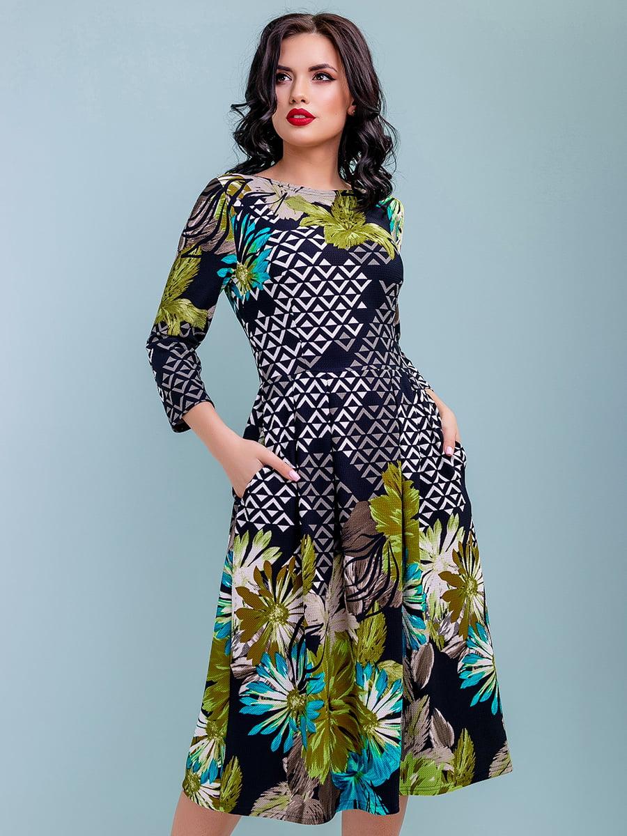 Сукня в квітковий принт | 4983746 | фото 2