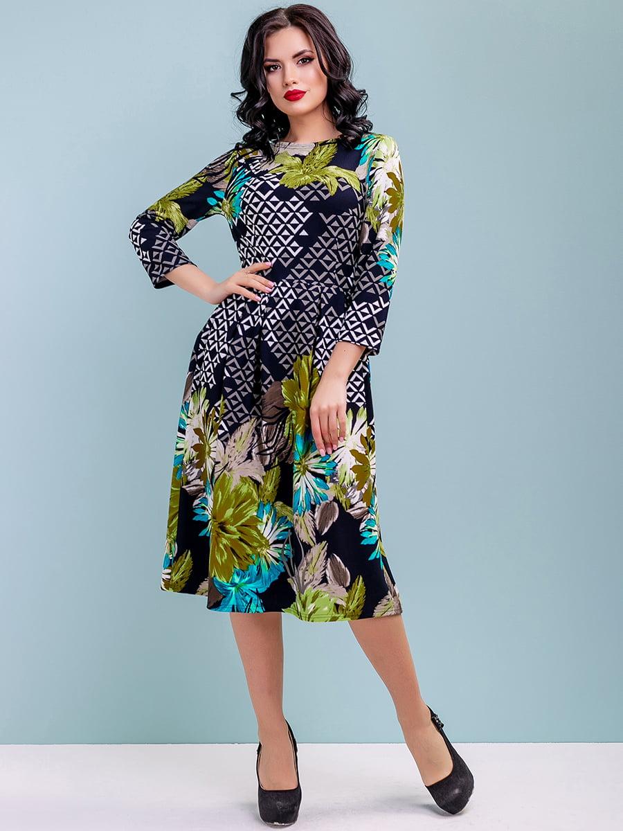 Сукня в квітковий принт | 4983746 | фото 3