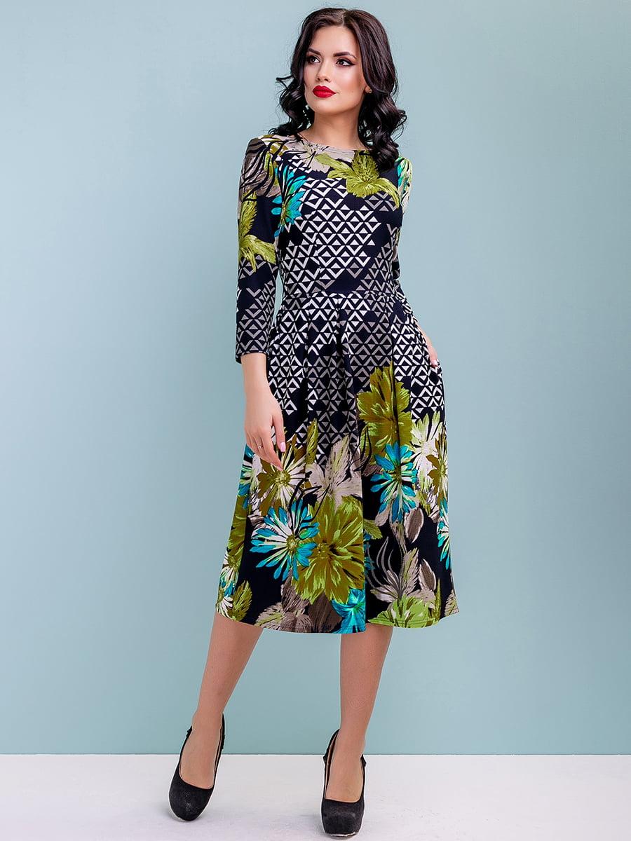 Сукня в квітковий принт | 4983746 | фото 4